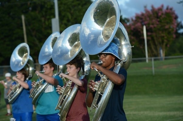 Byrnes Band Camp August 10 2016